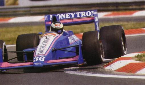 Stefan Johansson, algoz de Ayrton Senna na Hungria