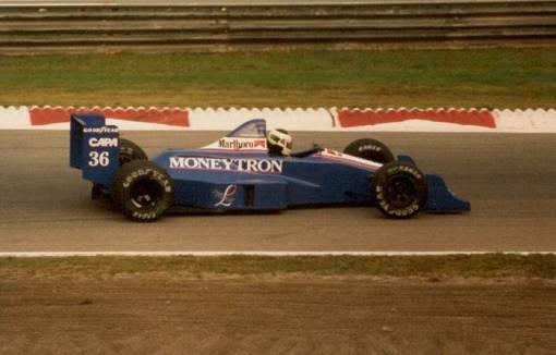 Stefan Johansson celebrou seu 33º aniversário fora do GP da Itália