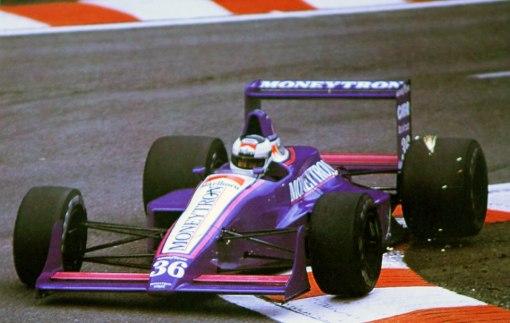 Johansson rumo a uma corrida razoável em Spa