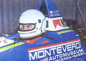 Foitek em seu début com o carro da Onyx em Silverstone