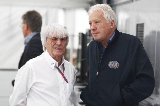 Bernie Ecclestone e Charlie Whiting divergem sobre como fazer o esporte mais ridículo
