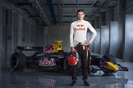 ... a chegada desse garotinho aqui, Max Verstappen