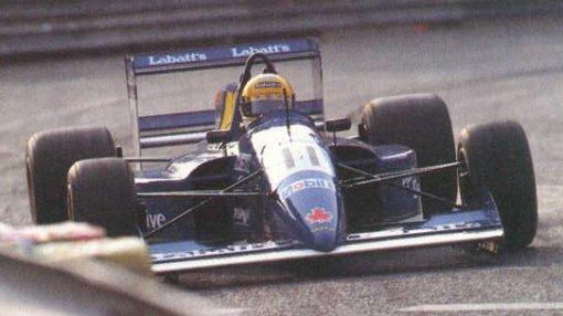 Andrea Chiesa, um dos pilotos cogitados para substituir Gregor Foitek