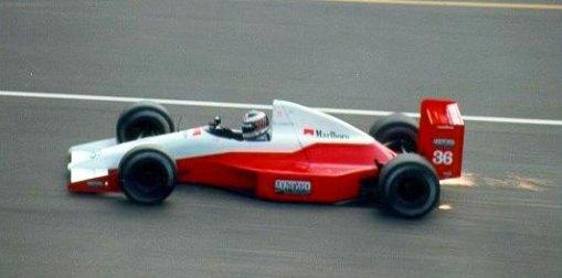 O misterioso teste de JJ Lehto com o que poderia ter sido o carro da Monteverdi em 1991